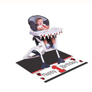20195019 - LadyBug High Chair Kit Please note: approx. 14 day delivery time. www.facebook.com/popitinaboxbusiness