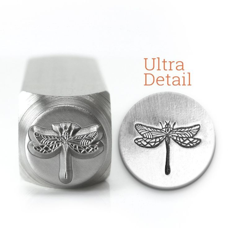 6mm Dragonfly Jewelry Metal Stamp Punch Jewellery Making Tools Stamping