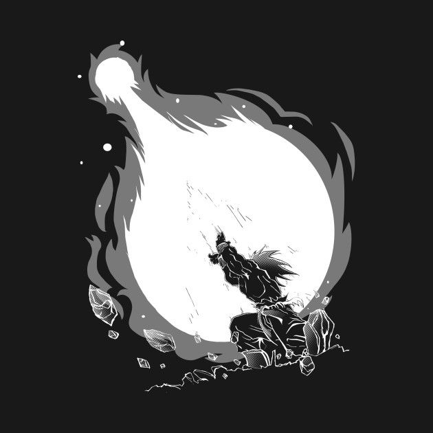 Check out this awesome 'Kamehameha+%28White+Version%29' design on @TeePublic!