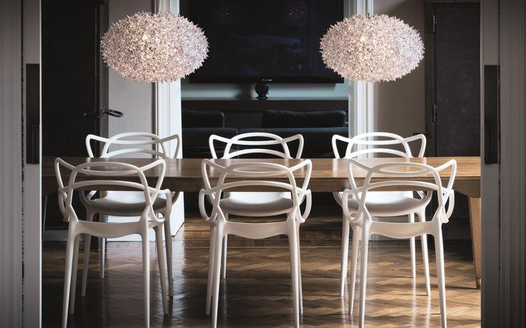 BLOOM lámparas, diseño Ferruccio Laviani