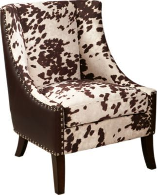 Brown Accent Chair With Ottoman Argomax Mesh Ergonomic Office (em-ec001) Cremyll In 2019 Living Room Pinterest