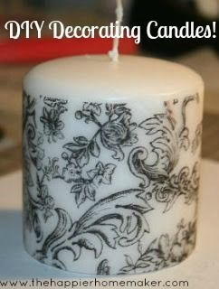 Designing Your Own Candles