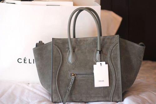 Celine suede (daim?) handbag. Heaven   BAGS ?   Pinterest ...
