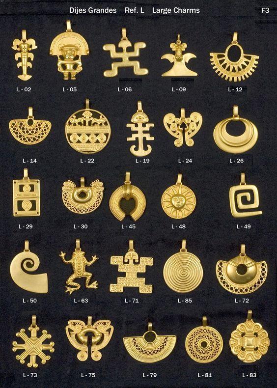 elementos gráficos Tairona. una referencia a su cultura y estilo ...