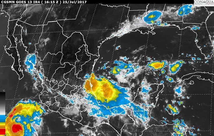 Durante las próximas horas se prevén tormentas intensas en zonas de Guerrero y Oaxaca, y tormentas muy fuertes en regiones de Sonora, Sinaloa, Chihuahua, Durango, Nayarit, Jalisco, Colima, Michoacán, Estado ...
