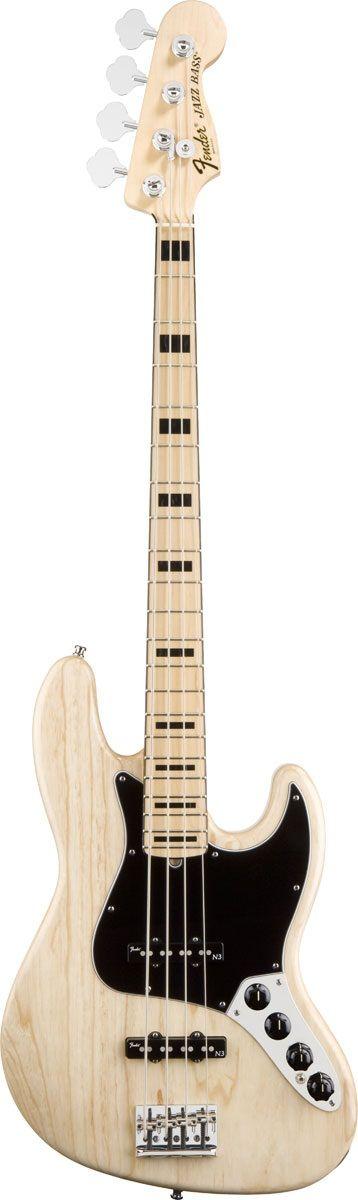 Fender American Deluxe Jazz Bass Ash