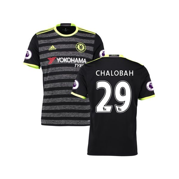 Nathaniel Chalobah Chelsea Youth adidas 2016/17 Away Replica Jersey - Black - $71.24