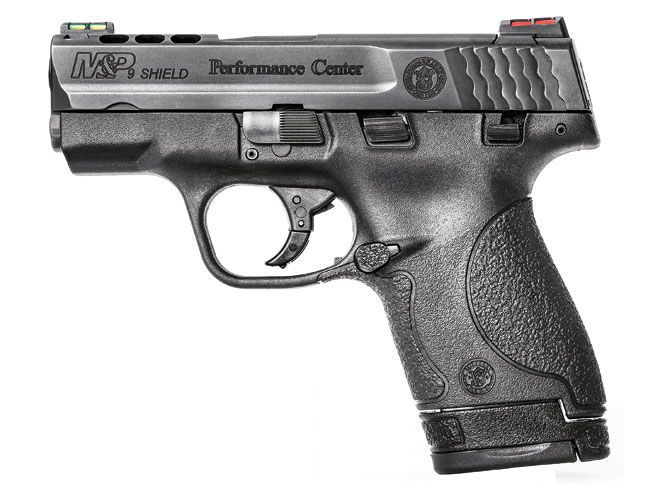 Smith & Wesson's Performance Center refines the 9mm Shield with porting and more!
