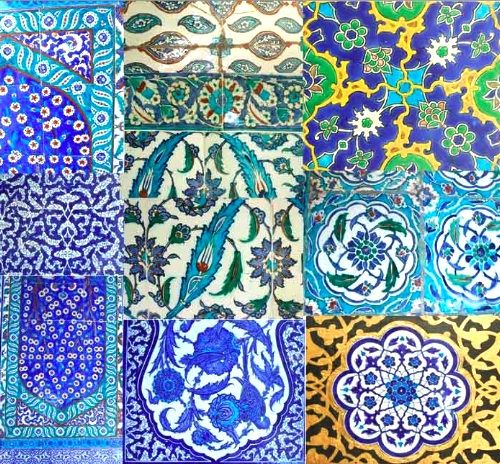 beautiful Turkish tiles