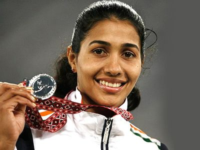 Anju Bobby George deterring comments ahead of Olympics!