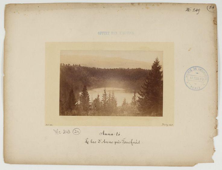 Saint Anna Lake near Tuşnad