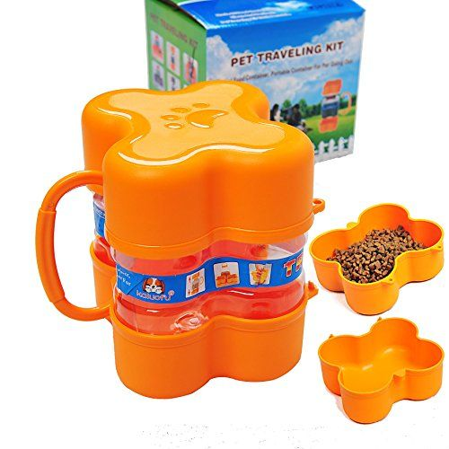 Pet Traveling Kit Portable Cat Dog Food Storage Bucket Seal Very Good Creative Dog Food Container Dry Dog Food Storage Pet Bowl >>> Details can be found by clicking on the image.