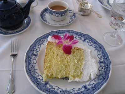 This classic cake has been served at tea in Watt's Tea Shop, a Milwaukee staple, since the 1900's.