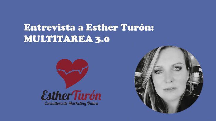 Esther Turon multitarea-3-0, Marketing, SEO, Social Media, una persona muy completa en el mundo digital, completamente preparada. Multitarea 3.0
