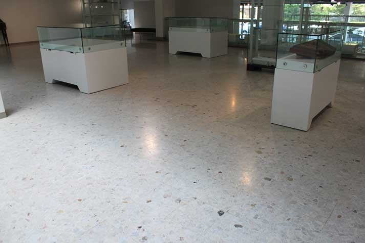 Exceptionally durable and hardwearing, #terrazzo is ideal for commercial spaces experiencing heavy duty foot traffic. #UnionTiles