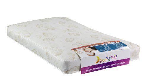 Comfort Hypo-allergenic Antibacterial Crib Toddler Bed Mattress Twilight #CribMattress