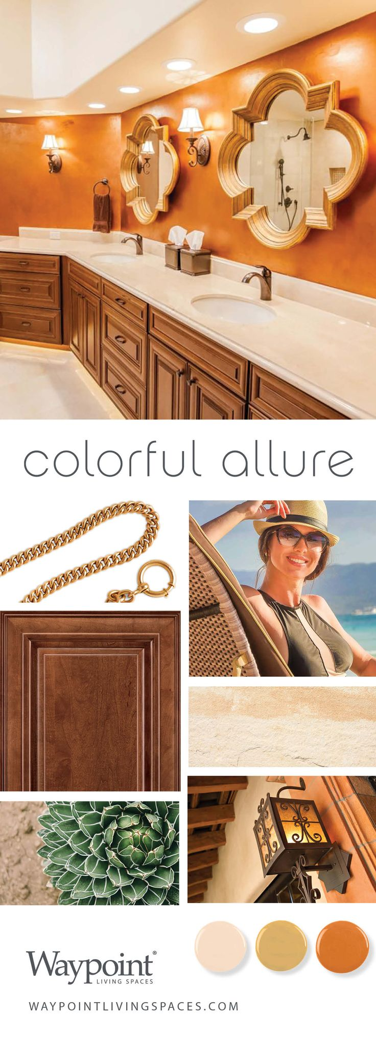 Sleek version of our Colorful Allure style by Sheila Lanier of Homework  Remodels  Bathroom cabinets281 best Colorful Allure images on Pinterest   Home  Living spaces  . Allure Kitchen And Bath Long Island. Home Design Ideas