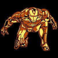 Iron Man - Pumpkin Pattern