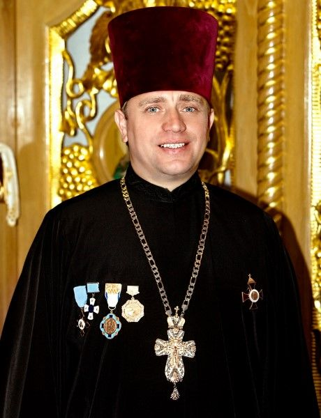 Отец Богдан Згоба, настоятель православного собора Пресвятой Девы Марии