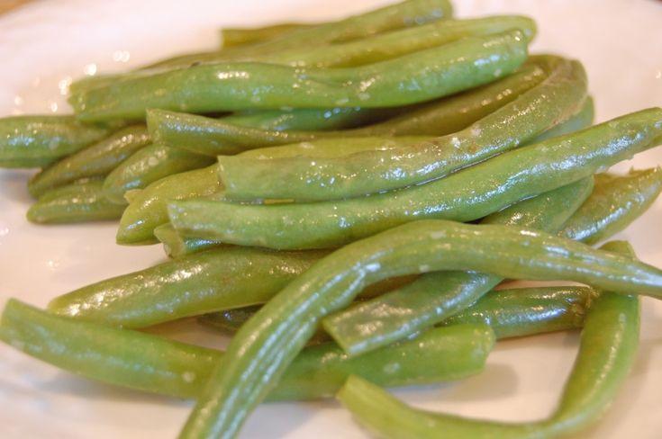 how to cook fresh green beans - menu year 3 week 34