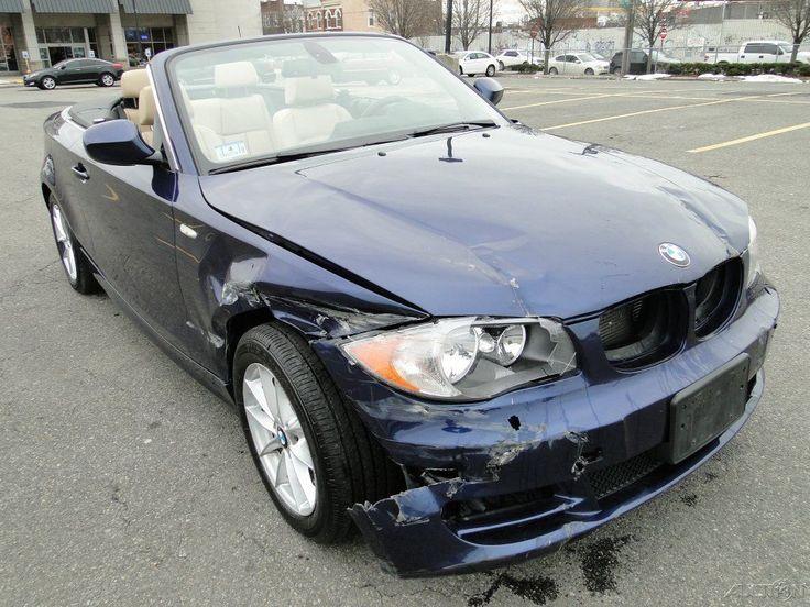 2011 BMW 128 i RWD Convertible Repairable