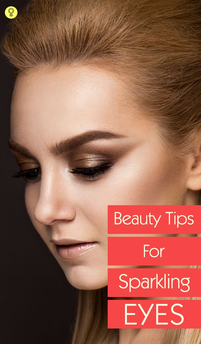 Beauty Tips for Sparkling Eyes | Beautiful, We and Beauty