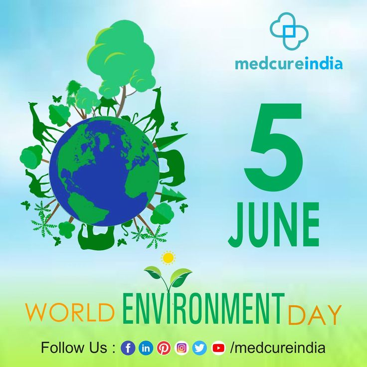 Medcureindia on in 2019 | Environment day, World environment day, Environment
