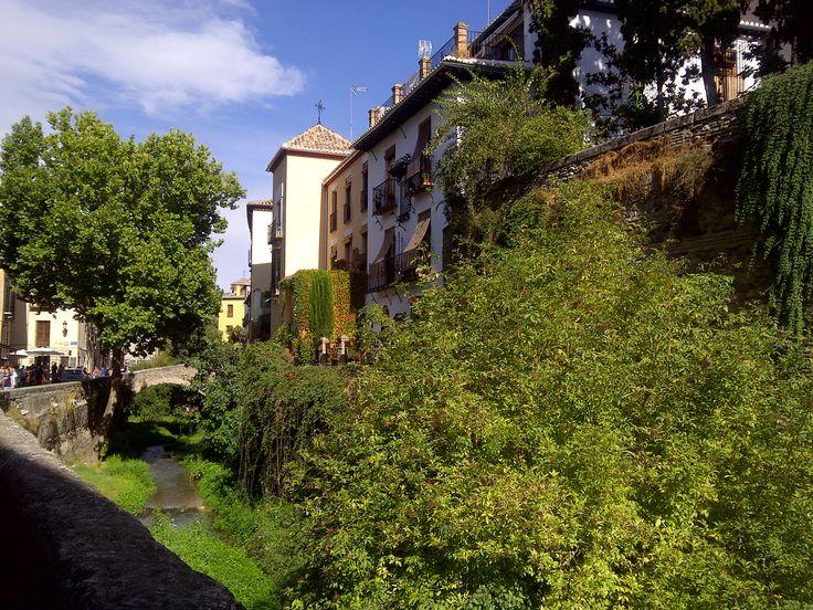 Carrera del Darro. Granada  #carreradeldarro #garanda #granadatour #walkingtours #andaluciatours #andalusiaguidedtours
