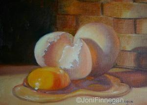 Anticipating Breakfast by Joan Finnegan Oil ~ 8 x 10   $ 350
