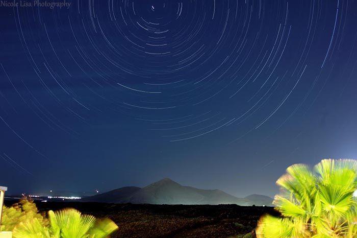 Lanzarote Costa Teguise Night Sky - Nicole Lisa Photography