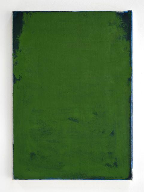 John Zurier, 'Holavallagarour,' 2014, Oil on linen, 21 × 15 in
