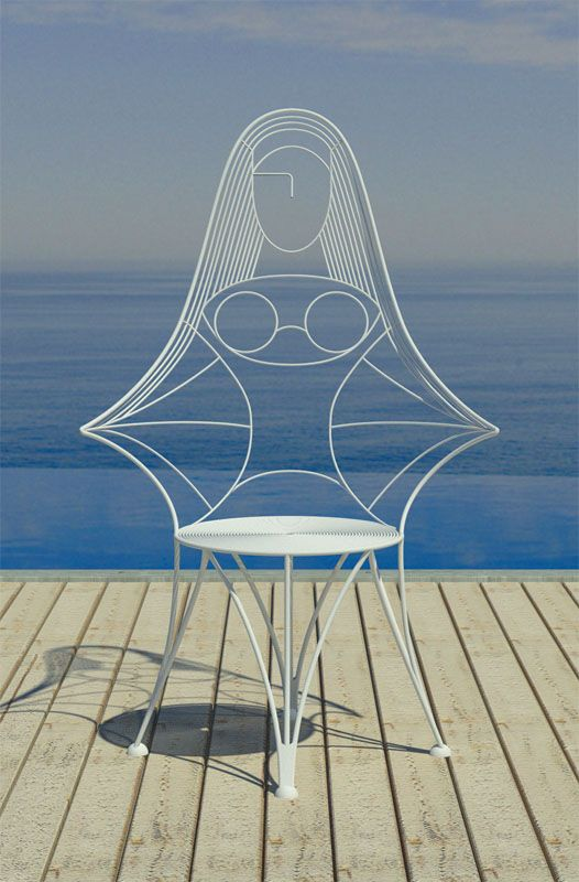 Karim Rashid's Vana Chair - | Top Interior Designers | Karim Rashid…