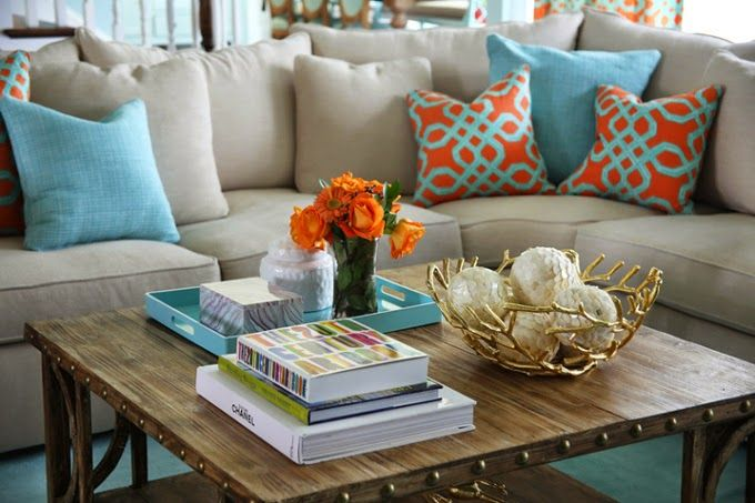 Colorful Living Room | House of Turquoise: Colordrunk Designs