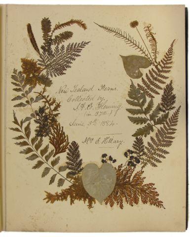 10. Ida Fleming's Album made in Dargaville 1875