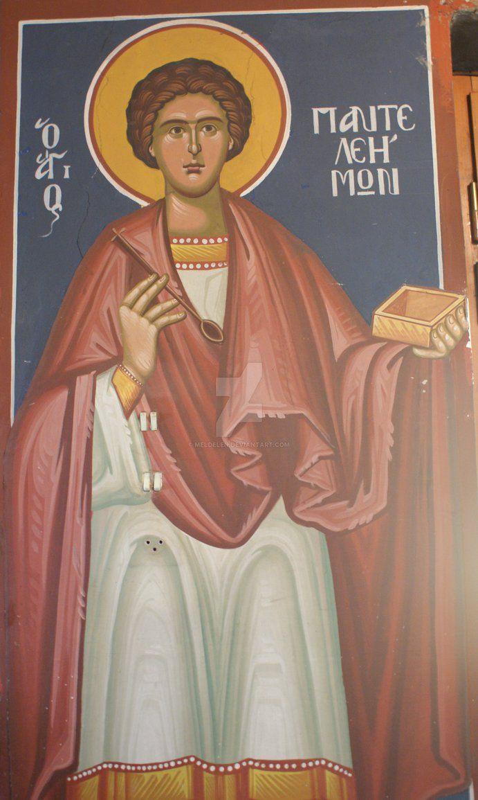 Agios Panteleimon icon, photo by Meldelen