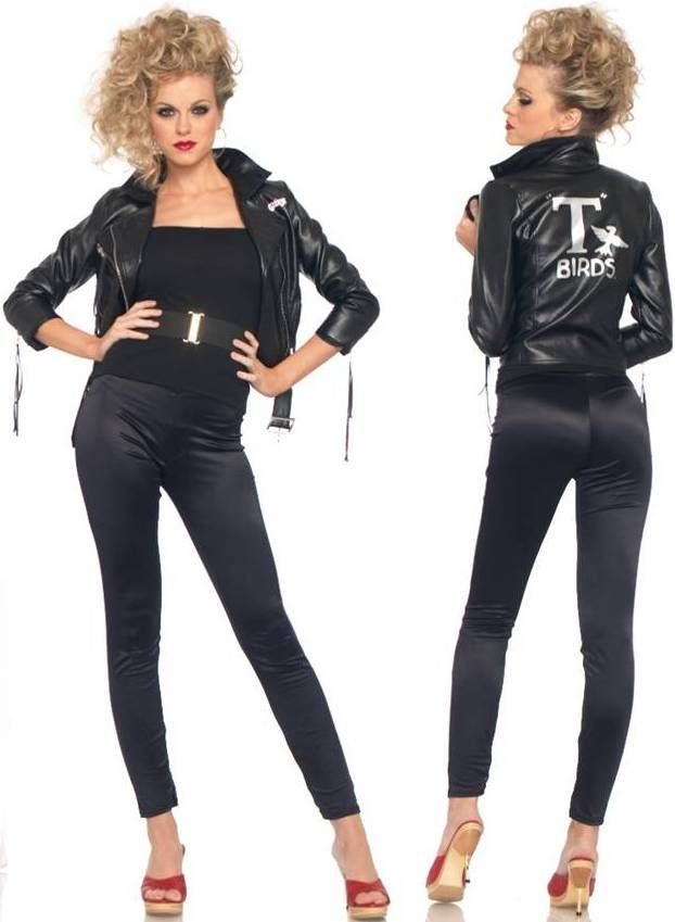 grease fancy dress costumes sexy t bird - Greece Halloween Costumes