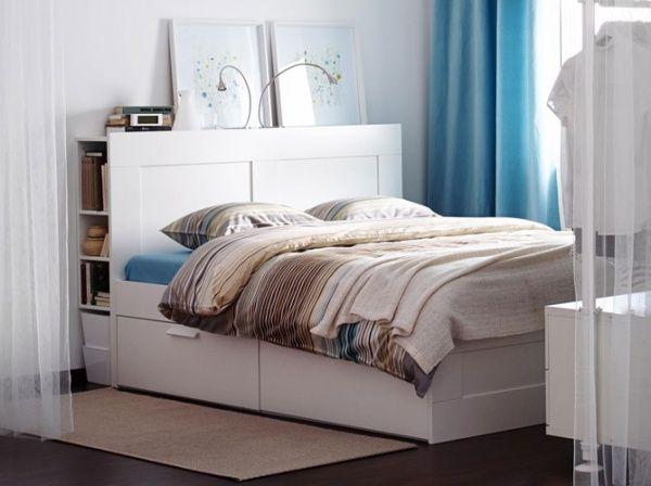 Tête de lit IKEA avec rangements