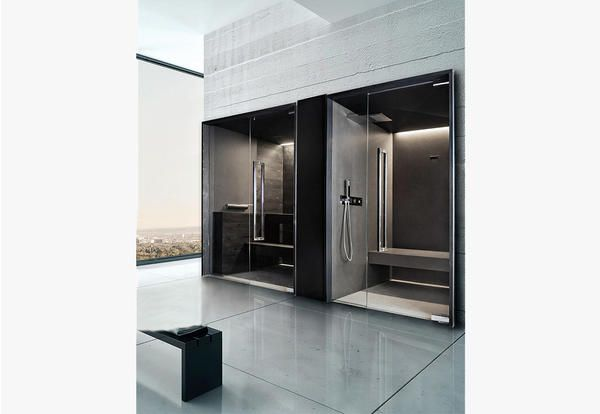 Bagno turco con 4 saune da casa per una mini spa domestica - Elle Decor Italia
