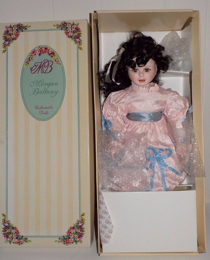 Morgan Brittany Porcelain Doll 1994 Christina Tea Cup Romantic Notions