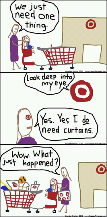 Seriously!! Stupid Target