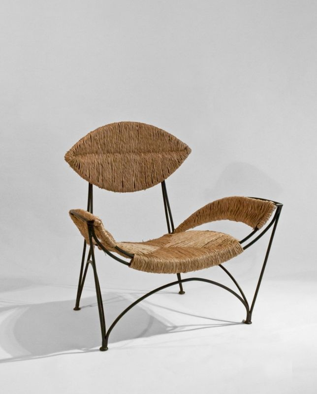 The Banana Chair by Tom Dixon was produced for Cappellini in the 80's.