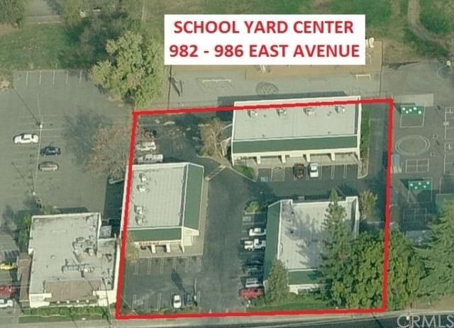 982 East Avenue Seven tenant retail complex zoned Regional Commercial (CR) located on East Avenue with approximately 17,900 average daily traffic volume. Tenants include retail, office, and a laundromat. Property is professionally managed. Amenities nearby include shopping and eating options.