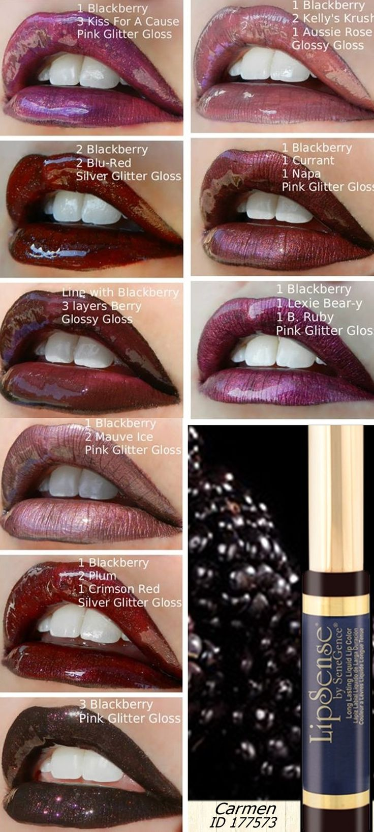Blackberry LipSense is a must-have for layering colour! Blackberry beautifully deepens any LipSense shade by creating a rich, dark base. For more info contact us info@longlastinglipstick.com.au