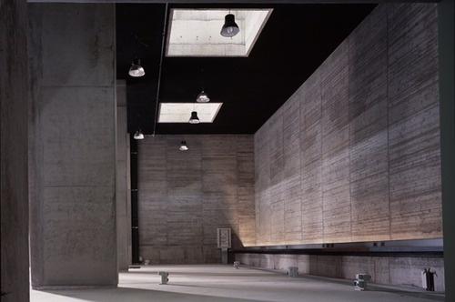 Francesco Venezia - IUAV materials testing lab, Mestre 1998. Via Fulvio Orsenig