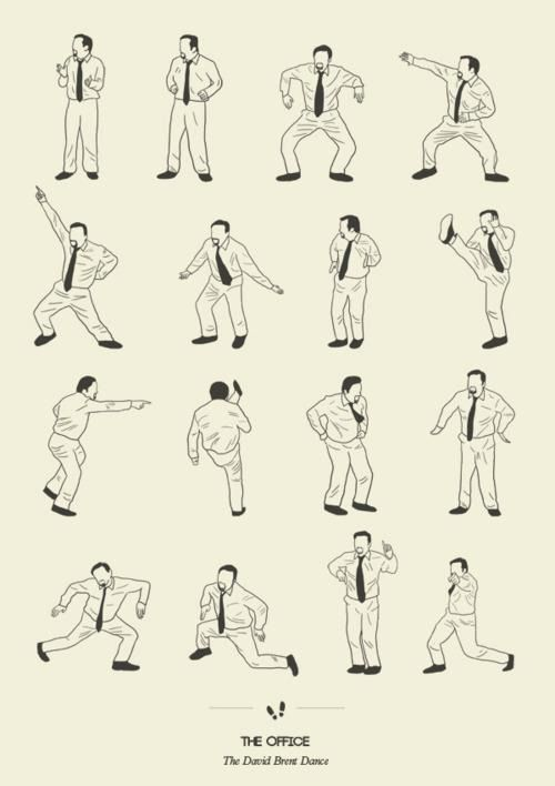 The David Brent Dance - The Office