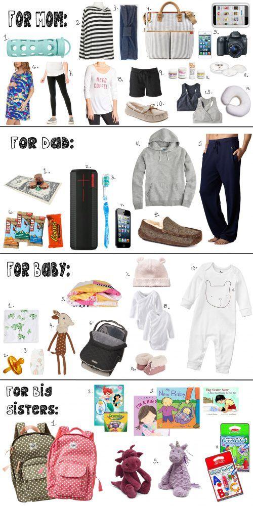 Hospital Bag Checklist Full