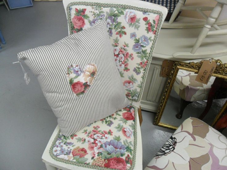 Shabby Chic Rocking Chair and Cushion Shabby Chic and Vintage Pin?