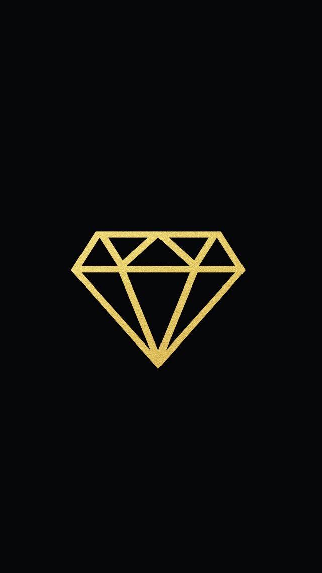 Diamond Wallpaper Gold Iphone 5 Background Lock Screen Screens Bling Gems Diamonds