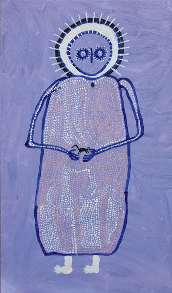Jack Dale ~ Female Wandjina and Baby, 2009