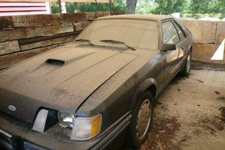 BF AUCTION: 1984 Ford Mustang SVO - http://barnfinds.com/bf-auction-1984-ford-mustang-svo/
